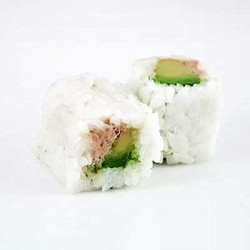 Thon Cuit Avocat Maki Neige