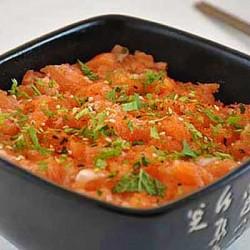 Chirashi Saumon No Tataki...